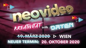 neovideo 2020 - Neuer Termin