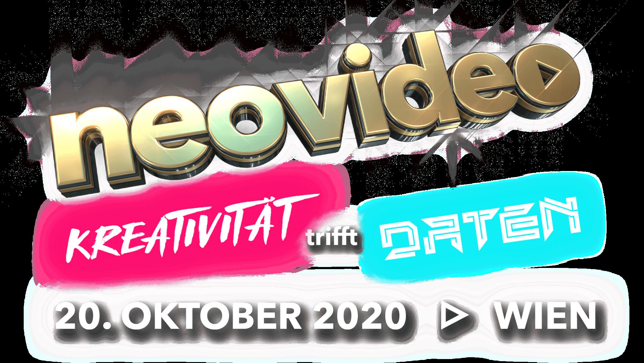 neovideo - Kreativität trifft Daten - 20.Oktober 2929 in Wien