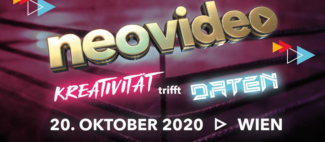 neovideo Kreativität trifft Daten am 20.Oktober 2020 in Wien